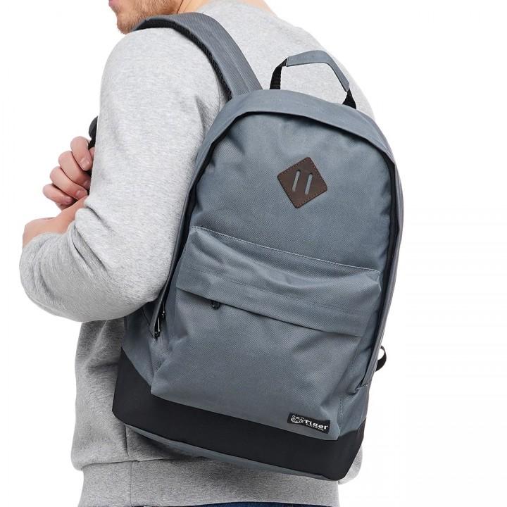 Городской рюкзак Tiger Big серый