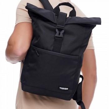 Городской рюкзак Tiger Rol Top Черный